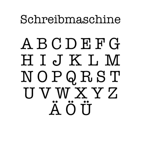 MagischeTasse   Personalisierte Zaubertasse mit Buchstabe in drei Schriftarten