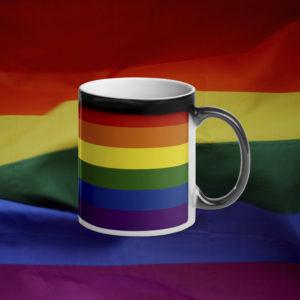 MagischeTasse | Zaubertasse LGBT: Regenbogenfahne