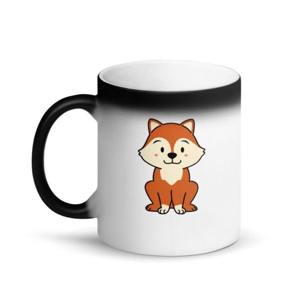 MagischeTasse | Tier-Zaubertasse | Die Zaubertasse für alle Fuchs-Liebhaber!