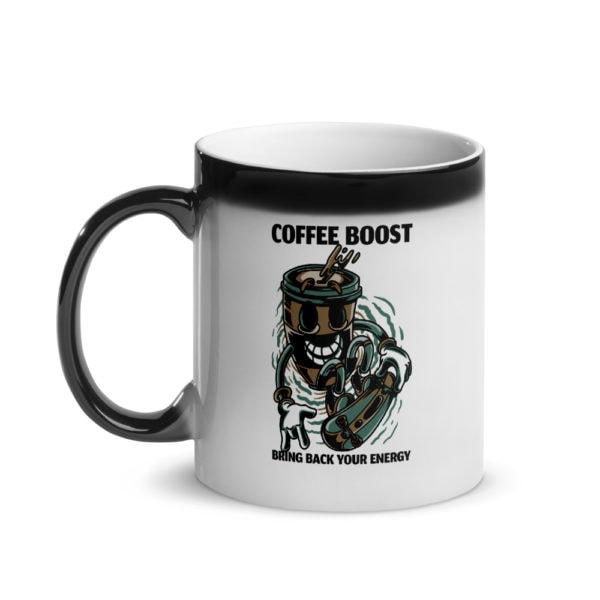 MagischeTasse   Personalisierte Zaubertasse Coffee Boost mit deinem Namen