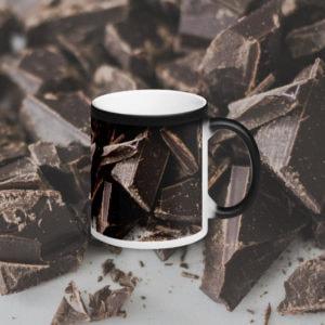 MagischeTasse | Einfach nur heiße Schoko! Foto-Zaubertasse mit Schokolade