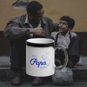MagischeTasse | Zaubertasse für den Vatertag: Bester Papa der Welt!