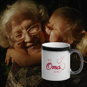 MagischeTasse | Zaubertasse für Großeltern: Beste Oma der Welt! - Die Geschenkidee!