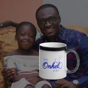 MagischeTasse | Zaubertasse für den Onkel: Bester Onkel der Welt!